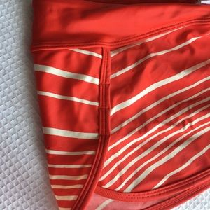 Athleta Swim Bottom Skirt SZ. XS red swimsuit